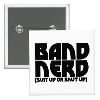 Band Nerd Buttons
