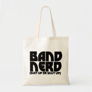 Band Nerd Canvas Bags