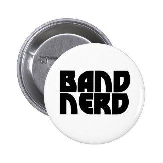 Band Nerd Pinback Buttons