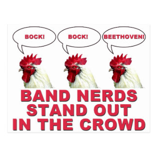 Band Nerds Stand Out Postcard