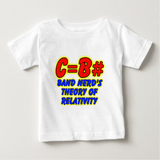 Band Nerd's Theory of Relativity Baby T-Shirt