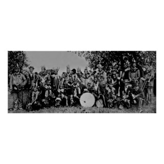 Band of Indians - Walpole Island Band Poster