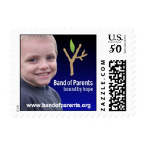 Band of Parents Awareness Postage Stamp