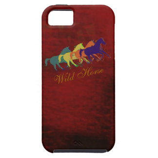 band of wild horses running iPhone 5 covers