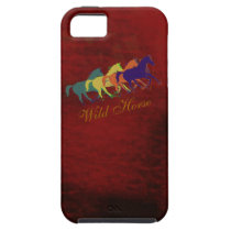 band of wild horses running iPhone SE/5/5s case