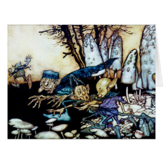 Band of Workmen Large Greeting Card