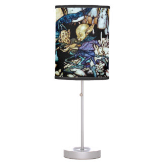 Band of Workmen Table Lamps