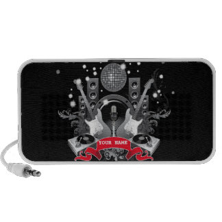 band on stage customizable doodle speakers