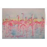 Band on the Run Let's Get Together Card