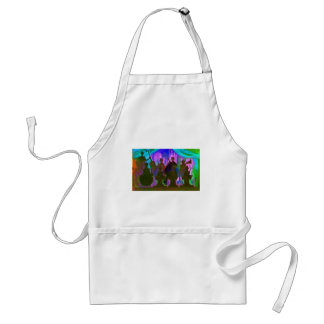 Band Painting Adult Apron