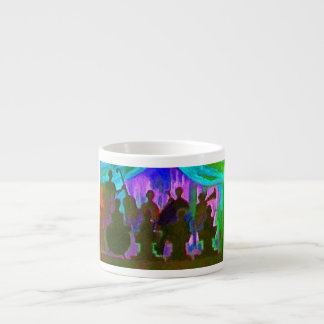 Band Painting Espresso Cup