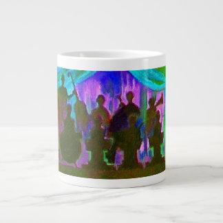 Band Painting Large Coffee Mug