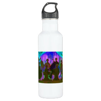 Band Painting Stainless Steel Water Bottle
