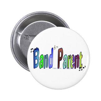 Band Parent Pinback Buttons