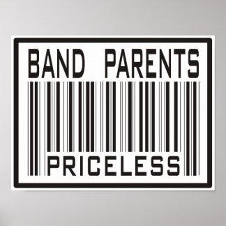 Band Parent Priceless Poster