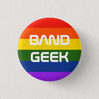 Band Pride Pinback Button