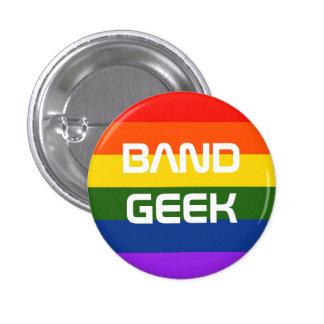 Band Pride Pinback Button