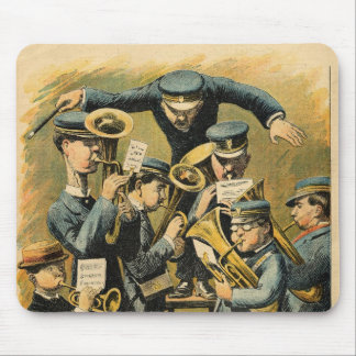 Band rehearsal mouse pad