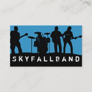Entertainment business cards templates zazzle band rock singers performance entertainment business card colourmoves