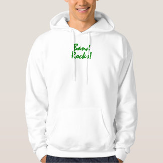 Band Rocks - Trumpets Green Lettering Hoody
