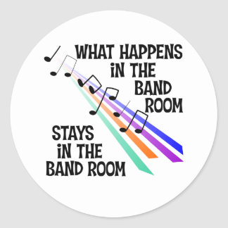 Band Room Stickers