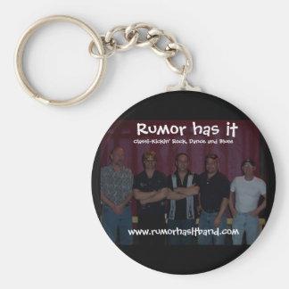 band, Rumor has it, www.rumorhasitband.com, Cla... Keychain