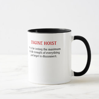 Band saw/engine hoist mug