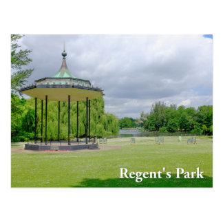 Band Stand Regent's Park London Postcard