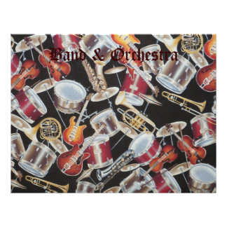 Band, Strings and Orchestra Scrapbook Letterhead