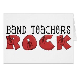 Band Teachers Rock Cards