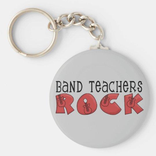 Band Teachers Rock Keychain