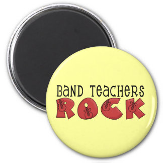 Band Teachers Rock Tshirts and Gifts 2 Inch Round Magnet