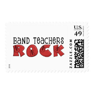 Band Teachers Rock Tshirts and Gifts Postage Stamp