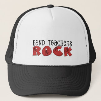 Band Teachers Rock Tshirts and Gifts Trucker Hat