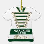 Band Uniform with Photo Christmas Tree Ornament