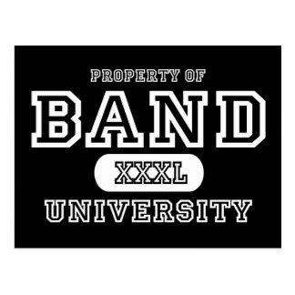 Band University Dark Postcard