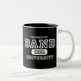 Band University Dark Two-Tone Coffee Mug