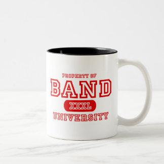 Band University Two-Tone Coffee Mug