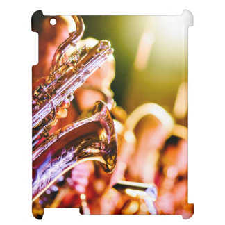 Band with saxophone player case for the iPad 2 3 4