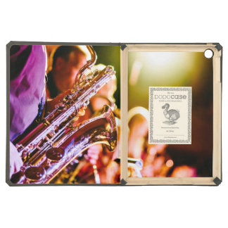 Band with saxophone player iPad air cover