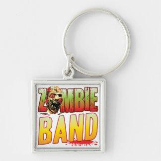 Band Zombie Head Keychain