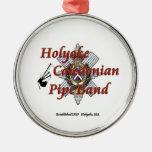 Banda caledonia del tubo de Holyoke Adorno Para Reyes
