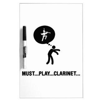 Banda - Clarinet Tablero Blanco
