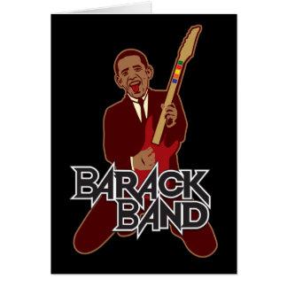Banda de Barack Tarjeta