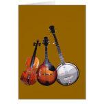 Banda de Bluegrass filtrada Felicitación