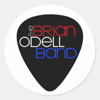 Banda de Brian Odell - pegatina de la púa de