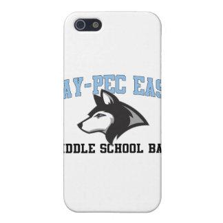 Banda de escuela secundaria del este Rayo-CPE iPhone 5 Cárcasa