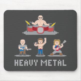 Banda de heavy metal Mousepad de 8 pedazos Alfombrilla De Ratón