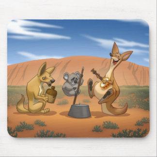 Banda de jarro australiana Mousepad