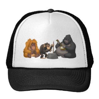 Banda de jarro del gorra de los monos